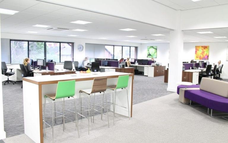 Badger Holdings office