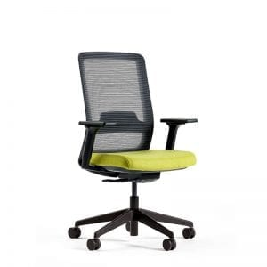 lime desk chair mesh
